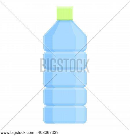 Biodegradable Plastic Transparent Bottle Icon. Cartoon Of Biodegradable Plastic Transparent Bottle V