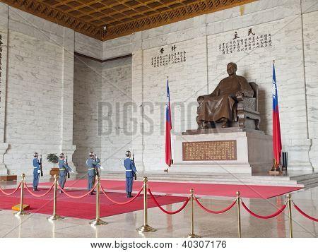 Bronze Statue Of Chiang Kai-shek