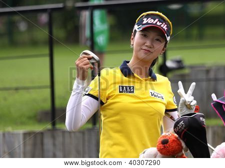 Kyeong Bae (KOR) at Evian Masters golf cup 2011