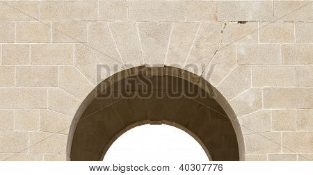 Arch Of Cemetery Gate