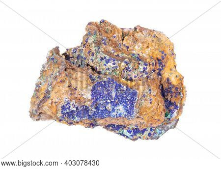 Malachite - Azurite Mineral Stone