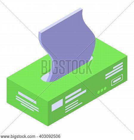 Hygiene Napkins Icon. Isometric Of Hygiene Napkins Vector Icon For Web Design Isolated On White Back