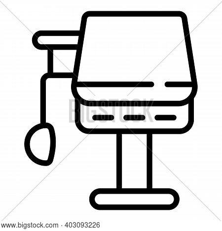 Care Ventilator Medical Machine Icon. Outline Care Ventilator Medical Machine Vector Icon For Web De