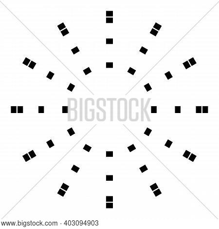 Firework Event Icon. Outline Firework Event Vector Icon For Web Design Isolated On White Background