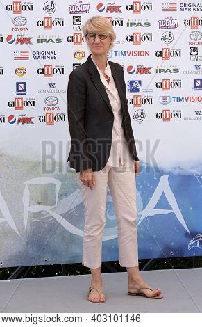 Giffoni Valle Piana, Sa, Italy - July 24, 2019 : Moira Mazzantini At Giffoni Film Festival 2019 - On