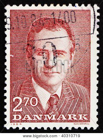 Postage Stamp Denmark 1984 Prince Henrik