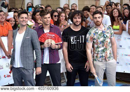 Giffoni Valle Piana, Sa, Italy - July 19, 2019 :  Theshow - Ipantellas - Willwoosh At Giffoni Film F