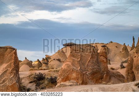 Photo Of Amazing Boulders In Devrent Valley, Also Known As Pink Or Imaginary Valley