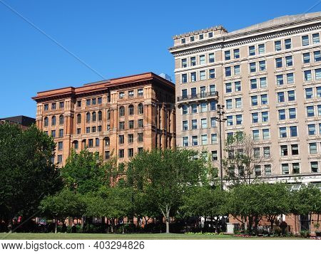 The Philadelphia Bourse And Hotel Monaco Located Near Independence National Historical Park In Downt