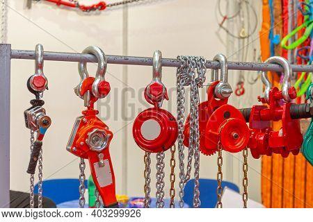 Chain Block Hoist Heavy Weight Equipment Construction Site