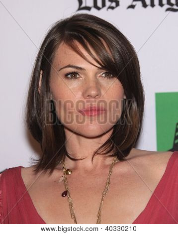 LOS ANGELES - OCT 22:  Clea DuVall arrives to Hollywood Film Awards Gala 2012  on October 22, 2012 in Beverly Hills, CA