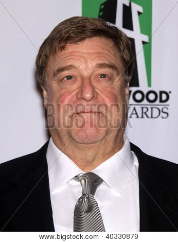 LOS ANGELES - OCT 22:  John Goodman arrives to Hollywood Film Awards Gala 2012 on October 22, 2012 in Beverly Hills, CA