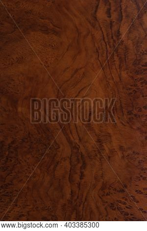 Polished Wood Surface. The Background Of Polished Wood Texture