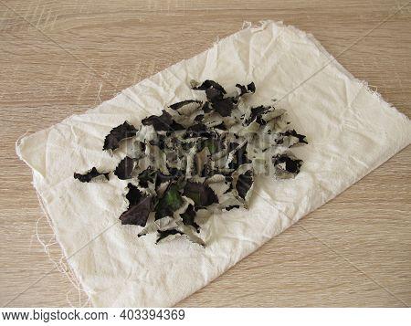 Dried Fermented Blackberry Leaves For Homemade Black Tea