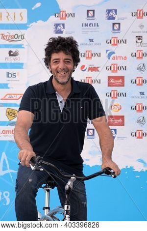 Giffoni Valle Piana, Sa, Italy - July 24, 2018 : Max Gazze\' At Giffoni Film Festival 2018 - On July