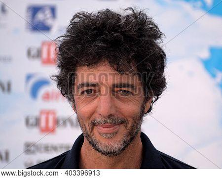 Giffoni Valle Piana, Sa, Italy - July 24, 2018 : Max Gazze' At Giffoni Film Festival 2018 - On July