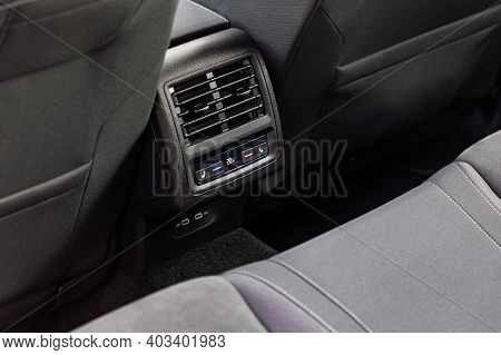 Air-condition In Interior Of A New Car