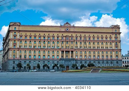 Building Of Russian Fsb