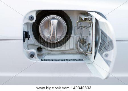 Fuel Door On Car