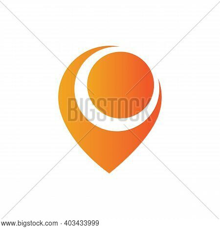 Map Point Location Pin Vector Icon For Mapping And Satellite Allocation