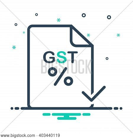 Mix Icon For Gst Paid Audit Save Exemption