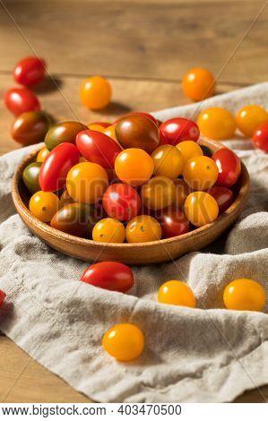 Raw Organic Heirloom Cherry Tomatoes