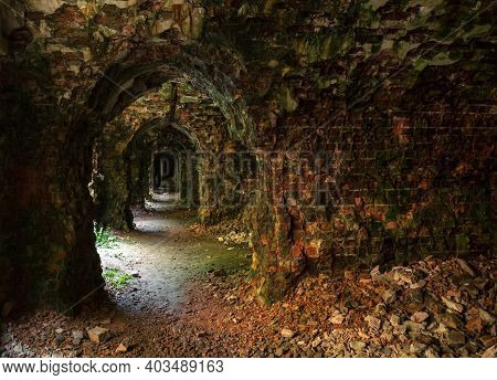 Abandoned Military Tarakaniv Fort Basements (other Names - Dubno Fort, New Dubna Fortress) - A Defen