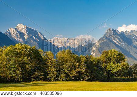 triglav national park near Bovec, Slovenia