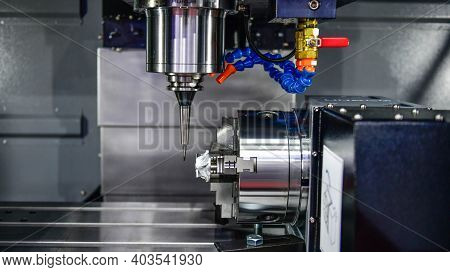 The 5-axis Cnc Mills Machines For Design Configuration That Utilizes A Swivel Head Machine Table And