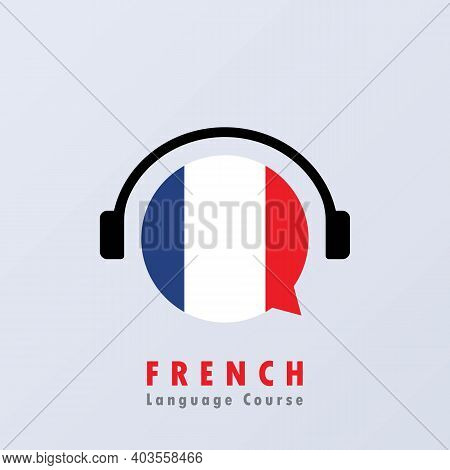 French Language Course Banner. Digital Course. Online Education. Online Language Courses. Language P