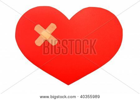Plasters And Paper Heart