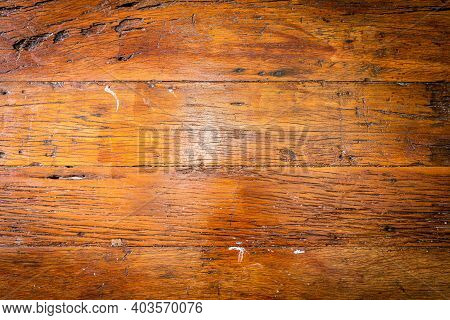 Aged Wooden Panel For Background And Pattern