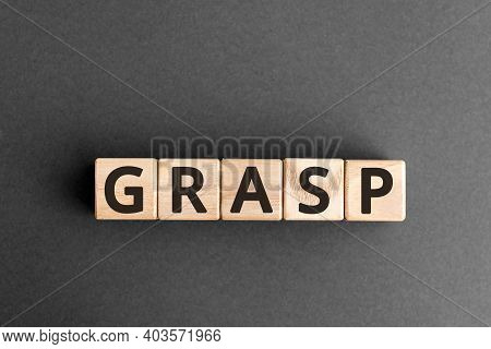 Grasp - Wooden Blocks With Letters, General Responsibility Assignment Software Patterns Grasp Concep