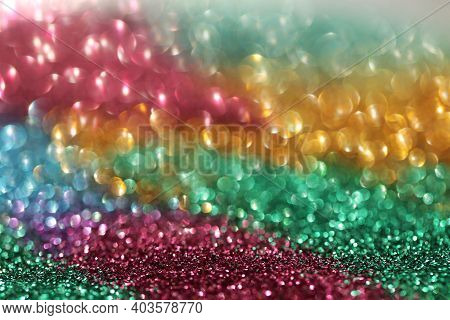 Wallpaper Phone Shining Glitter.glitter Radiance Surface. Multicolored Variegated Glitter With Shini