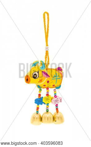 Tradition Chinese cloth doll ox,,2021 is year of the ox,Chinese characters translation: