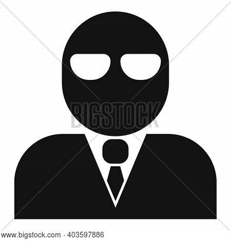 Criminal Person Icon. Simple Illustration Of Criminal Person Vector Icon For Web Design Isolated On