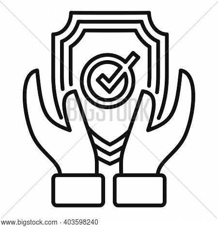 Personal Guard Icon. Outline Personal Guard Vector Icon For Web Design Isolated On White Background