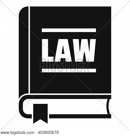 Policeman Law Icon. Simple Illustration Of Policeman Law Vector Icon For Web Design Isolated On Whit