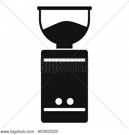 Coffee Mixer Grinder Icon. Simple Illustration Of Coffee Mixer Grinder Vector Icon For Web Design Is