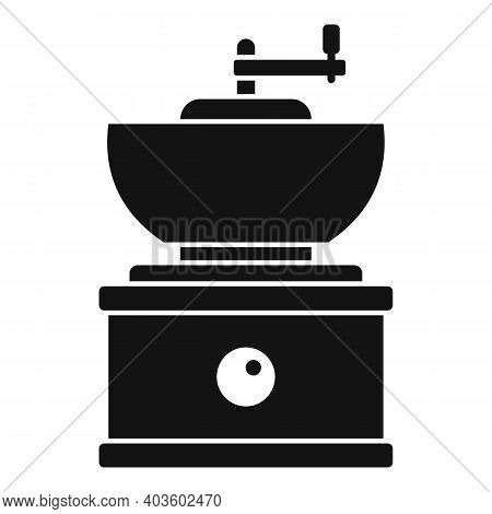Old Coffee Grinder Icon. Simple Illustration Of Old Coffee Grinder Vector Icon For Web Design Isolat