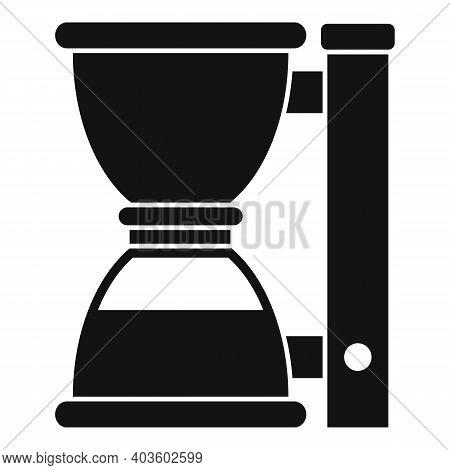 Barista Coffee Machine Icon. Simple Illustration Of Barista Coffee Machine Vector Icon For Web Desig