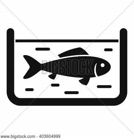 Fish Farming Icon. Simple Illustration Of Fish Farming Vector Icon For Web Design Isolated On White
