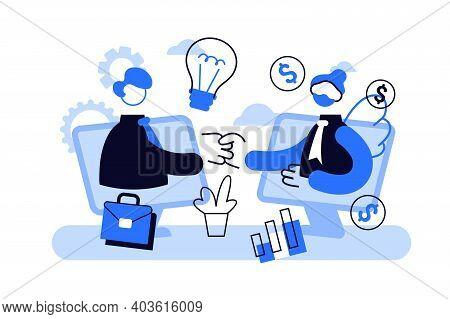 Entrepreneurship Funding, Initiative Investment, Idea Financing. Angel Investor