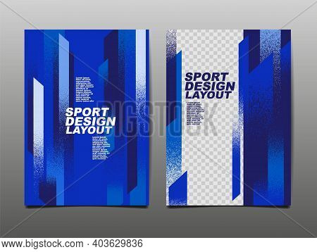 Sport Design Layout ,template Design, Sport Background, Dynamic Poster, Brush Speed Banner, Vector I