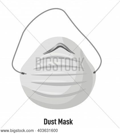 Dust Mask With Straps, Protective Measures Safety