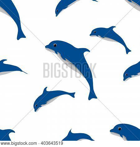 Illustration, Vector, Ocean, Animal, Fish, Marine, Swim, Nature, Sea, Isolated, White, Icon, Water,