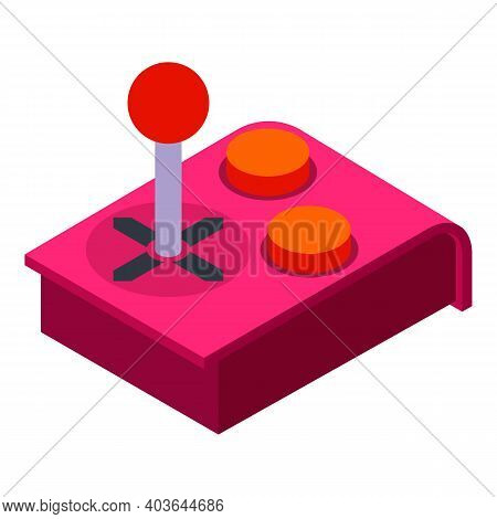 Game Controller Device Icon. Isometric Of Game Controller Device Vector Icon For Web Design Isolated