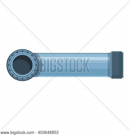 Petrol Pipe Icon. Cartoon Of Petrol Pipe Vector Icon For Web Design Isolated On White Background
