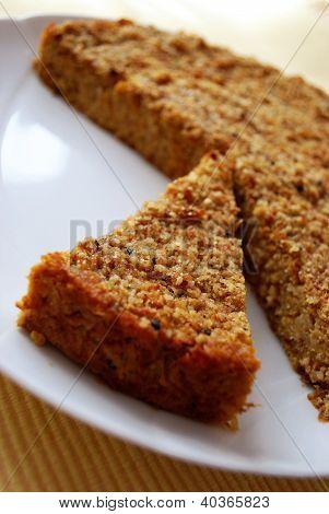 Millet e torta di zucca