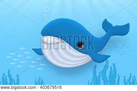 Nautical, Aquarium, Greeting, Children, Humpback Whale, Dive, Decoration, Beautiful, Orca, Summer, K